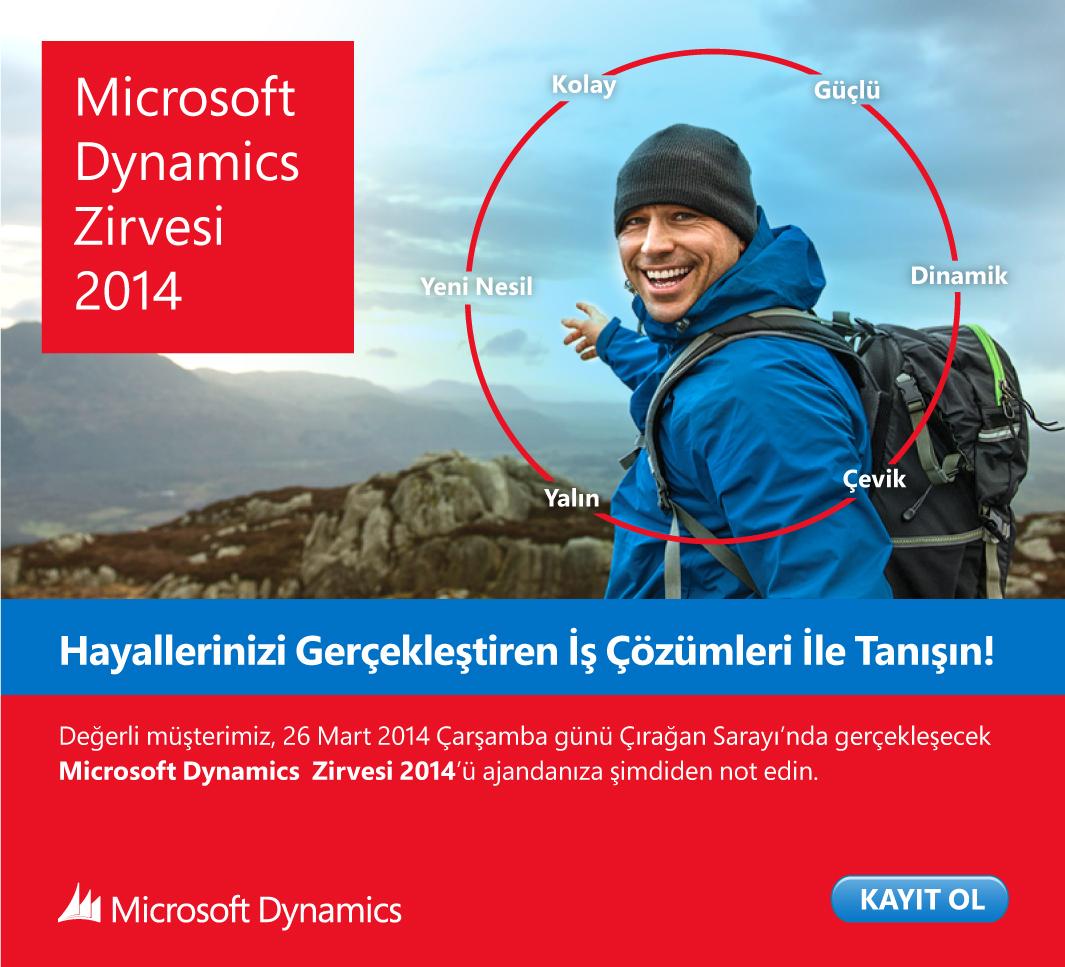 Microsoft Dynamics Zirvesi 2014: Davetlimizsiniz